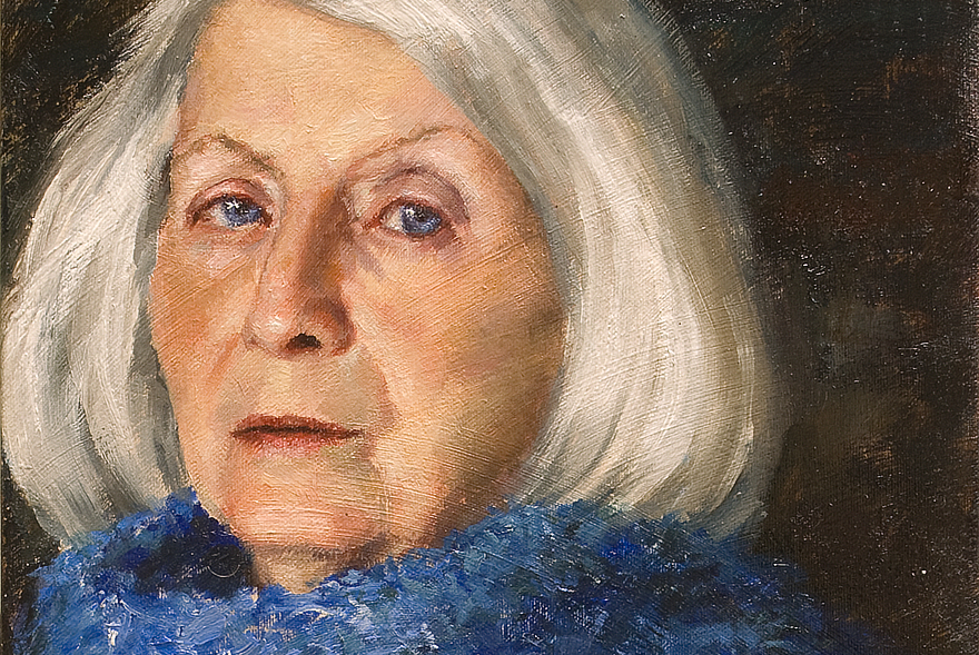 Mother Portrait Feature Painting Seamus Berkeley