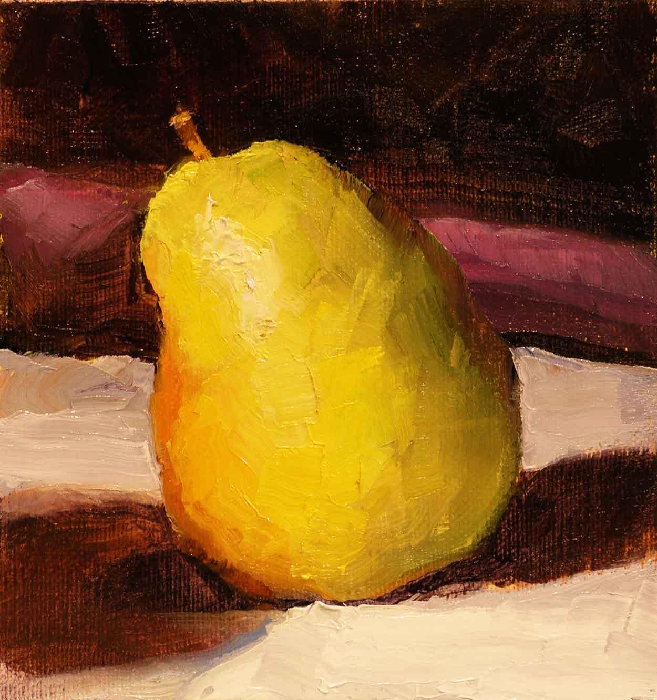 Leaning-Pear-Painting-Seamus-Berkeley