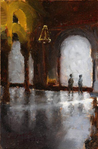 Alcázar Painting Seamus Berkeley