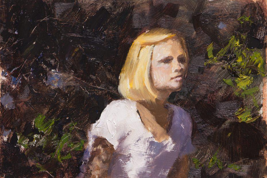 Berkeley Fife Study Portrait Painting Seamus Berkeley