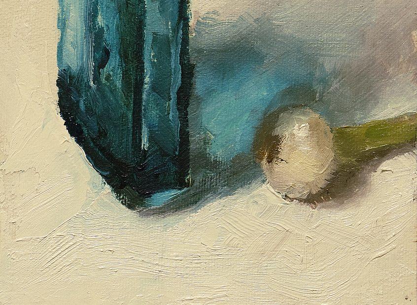 Blue Cool Painting Seamus Berkeley