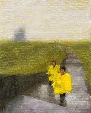 Cliffs of Moher Painting Seamus Berkeley