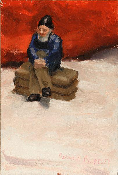Gnome Painting Seamus Berkeley
