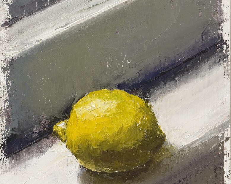Lemon Still Painting Seamus Berkeley