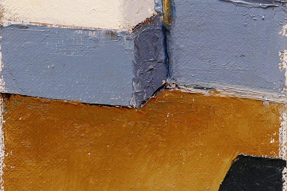 Light Blue Painting Seamus Berkeley