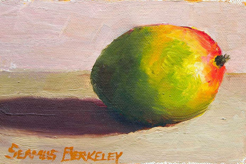 Mango Afternoon Painting Seamus Berkeley