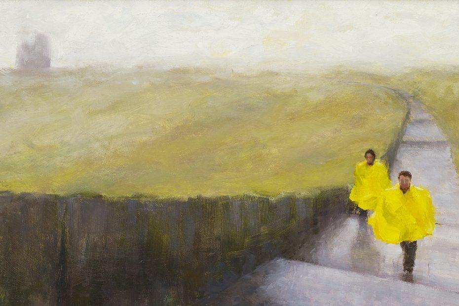 Moher Painting Seamus Berkeley