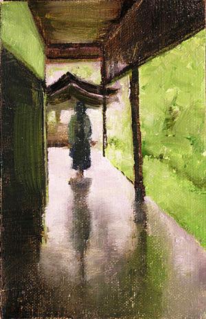 Monastery Painting Seamus Berkeley