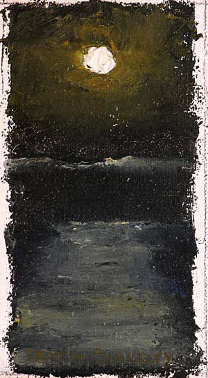 Moon Sea Painting Seamus Berkeley