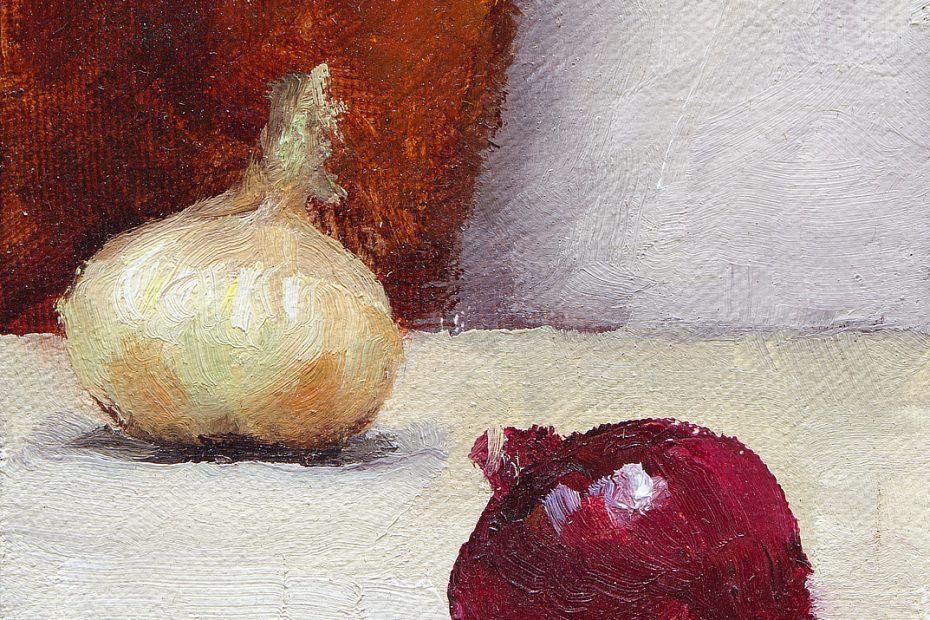 Onions Painting Seamus Berkeley