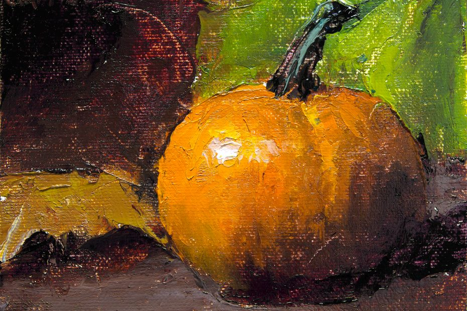Painted Pumpkin Painting Seamus Berkeley