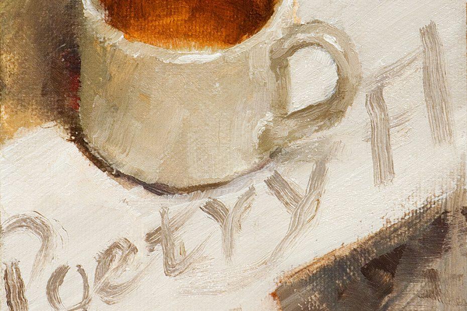Tea Poetry Painting Seamus Berkeley