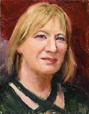 Val Painting Seamus Berkeley